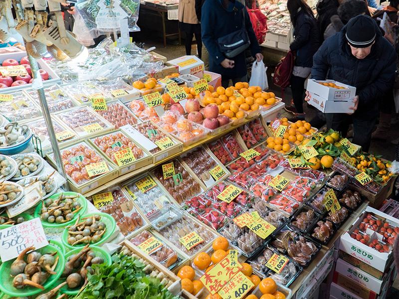 金沢近江町市場