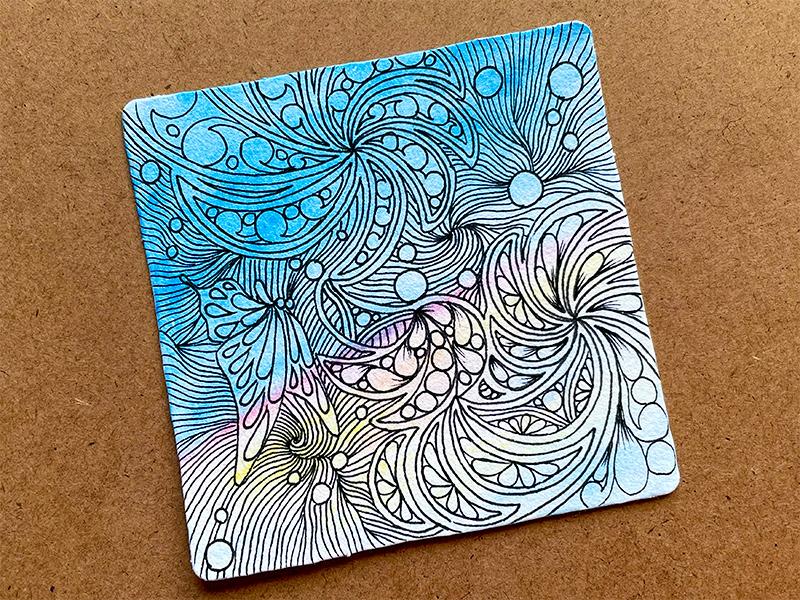ゼンタングル(zentangle)to you tangle