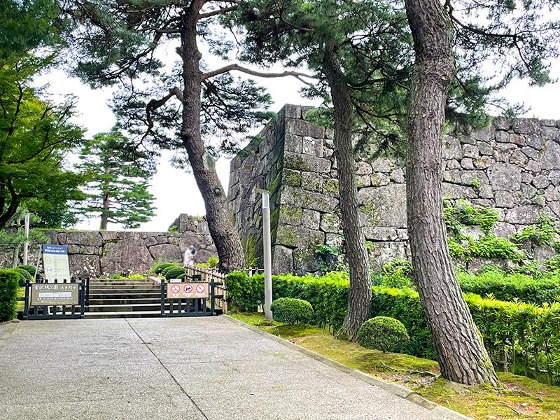 金沢城大手門