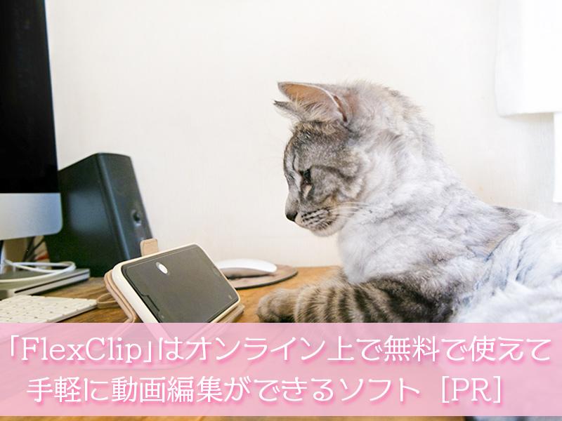 「FlexClip」はオンライン上で無料で使えて手軽に動画編集ができるソフト[PR]