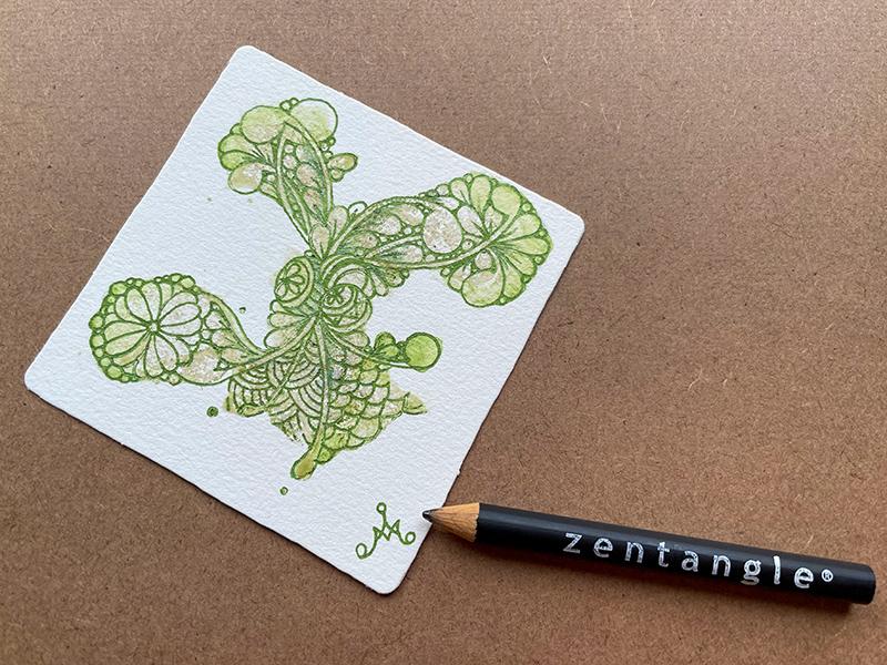 ゼンタングル(zentangle)toyoutangle