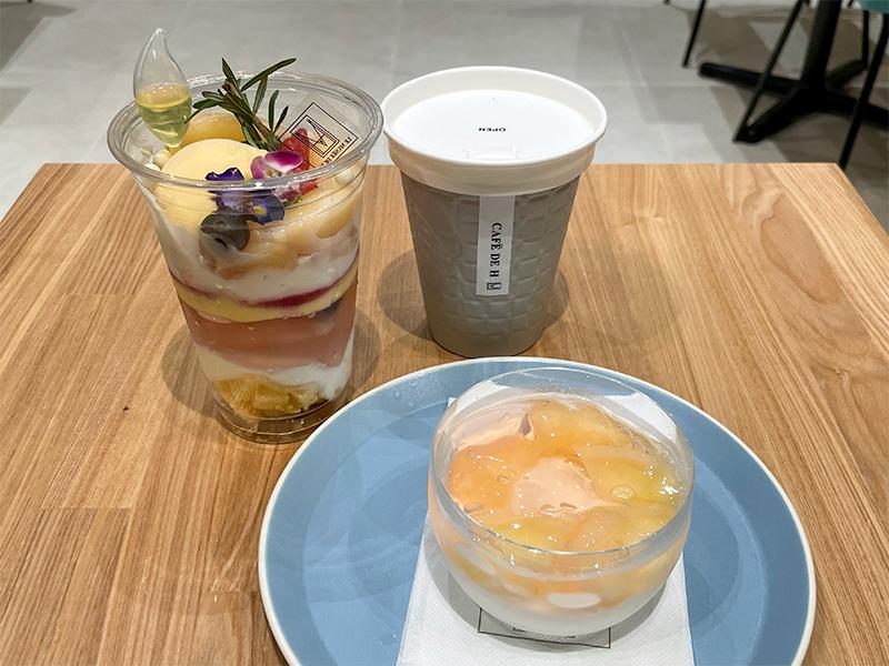 cafe de h(カフェ ドゥ アッシュ・グランシェフズキッチン)イオンモール白山