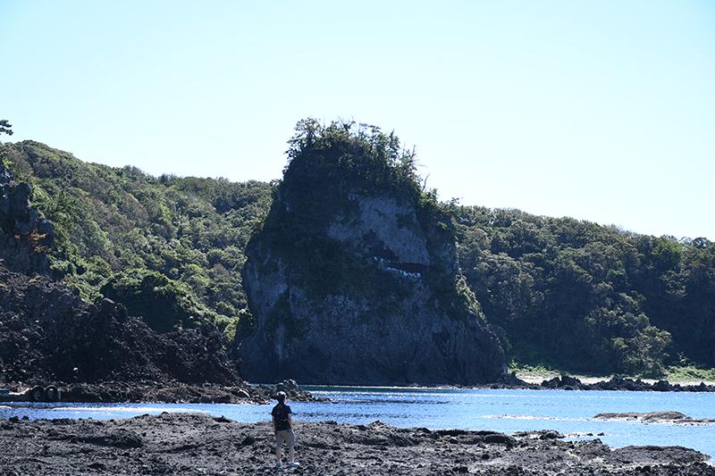 カメラ散歩・巌門、鷹の巣岩