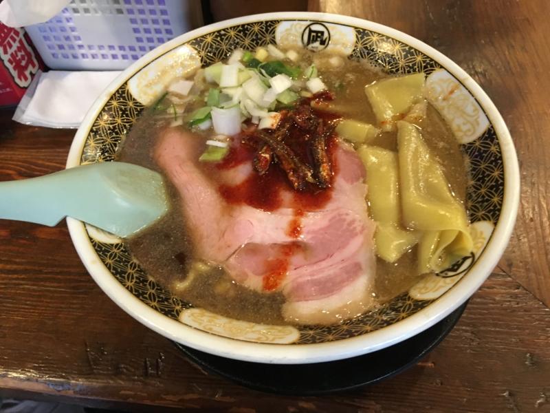 20170416 渋谷 ラーメン凪の煮干しラーメン