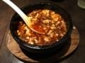 20170717 五反田 陳家私菜の麻婆豆腐