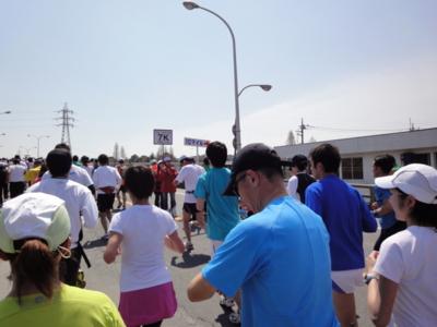 かすみがうらマラソン2010、7K地点