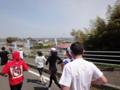 かすみがうらマラソン2010、ようやく霞ヶ浦が見えてきた