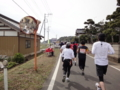 かすみがうらマラソン2010、34K地点