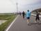 かすみがうらマラソン2010、36K地点