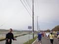 かすみがうらマラソン2010、37K地点