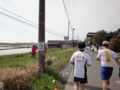 かすみがうらマラソン2010、38K地点