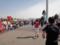 かすみがうらマラソン2010、ようやくゲート見えてきた!