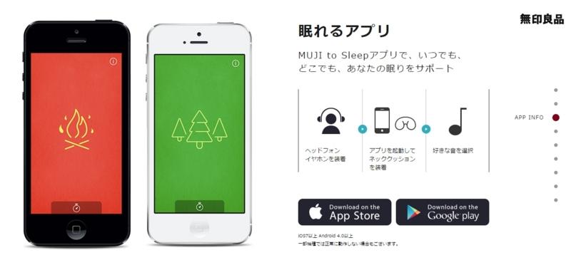 最強の環境音アプリは間違いなく「MUJI to Sleep」