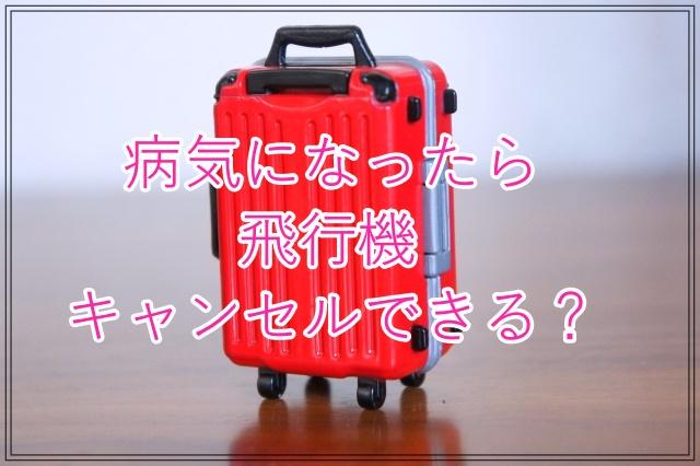 病気 風邪 キャンセル 払戻 返金 飛行機 ANA JAL