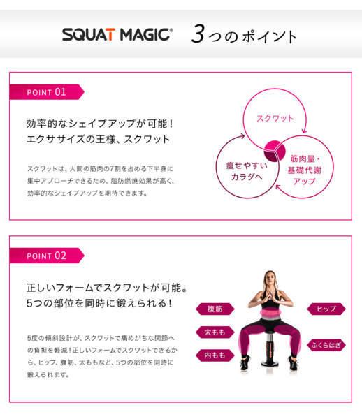 スクワットは身体の大事な下半身の筋肉をつけるのに最適
