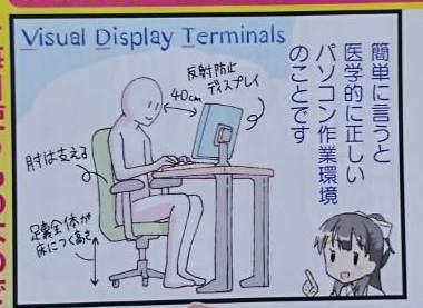 医学的に正しいパソコン作業環境