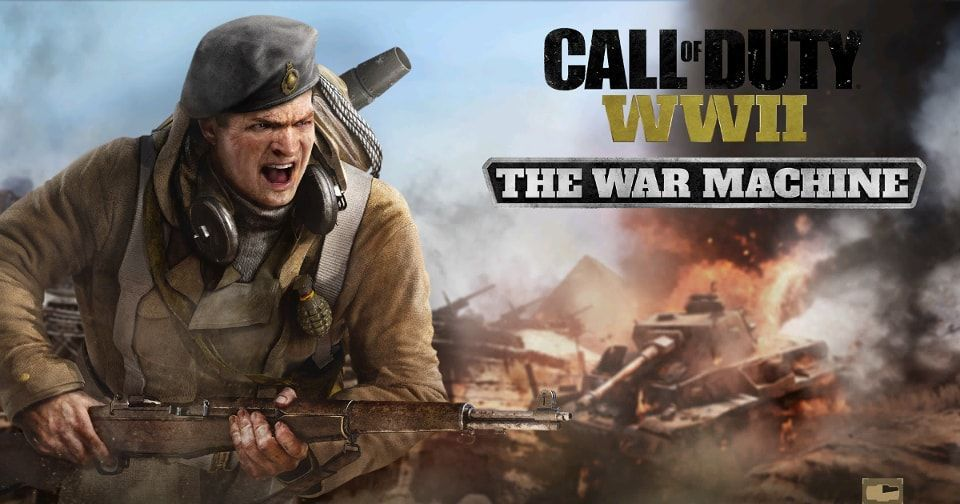 Call of Duty:WWII COD WW2 WAR MACHINE