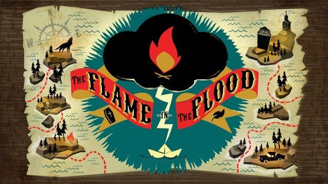 The Flame in the Floodメイン画面