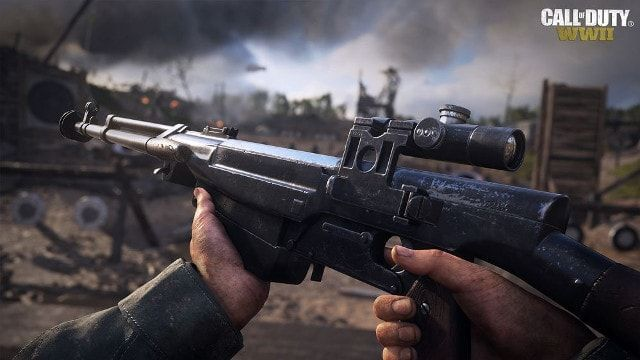 Call of Duty:WWII COD WW2 シモノフ