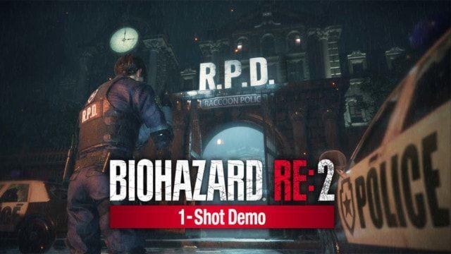 バイオハザード RE:2 1-Shot Demo 体験版