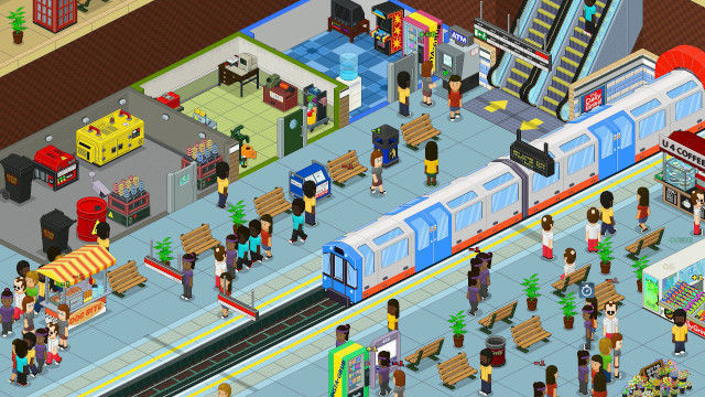 Overcrowd A Commute Em Up