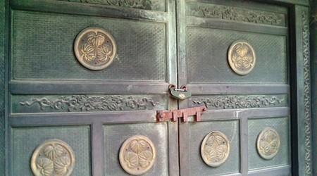 20090716-07東京 芝 増上寺 徳川将軍家墓所鋳抜門