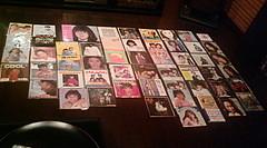 20091222-05第3回昭和歌謡レコード鑑賞会 全ジャケット