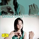 ベートーヴェン:ヴァイオリン・ソナタ第2番&第9番