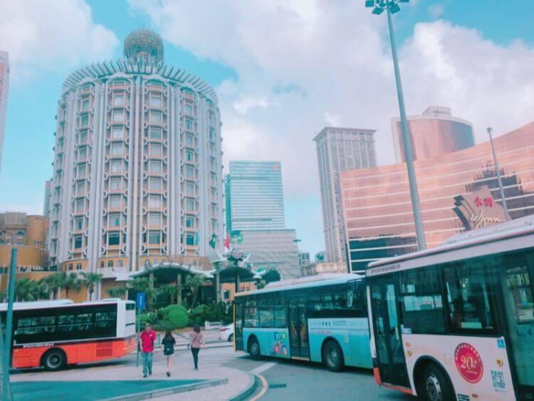 マカオ 路線バス