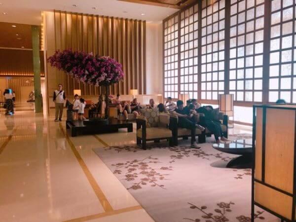 ホテルオークラマカオ ロビー