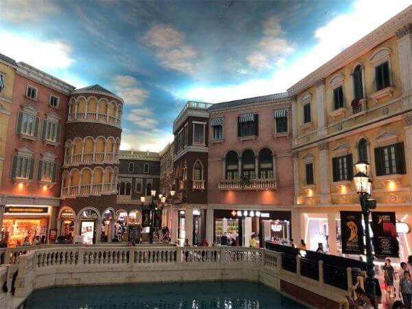 ベネチアンマカオ ショッピングモール