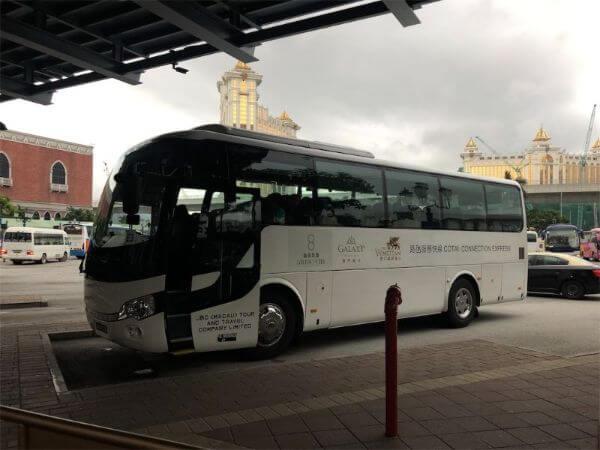 ベネチアンマカオ シャトルバス