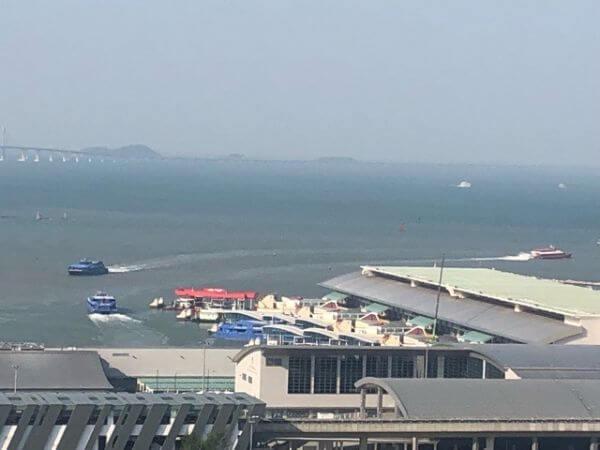 マカオ タイパ フェリーターミナル