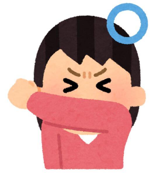 咳エチケット 新型肺炎予防
