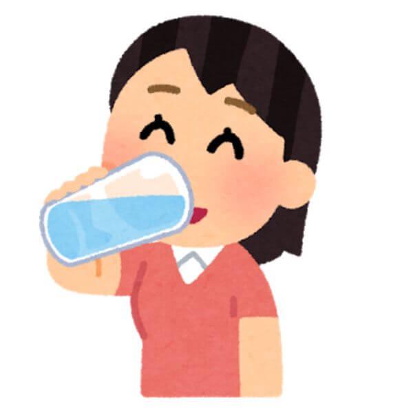 水分補給 新型肺炎予防