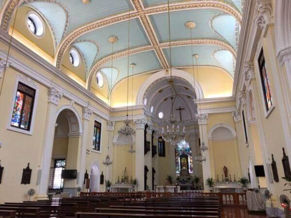 マカオ 聖ローレンス教会