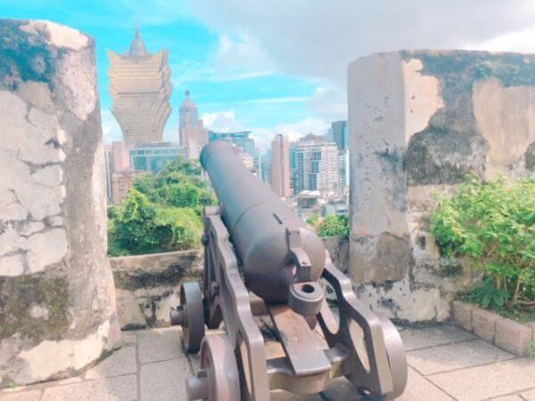 マカオ モンテの砦
