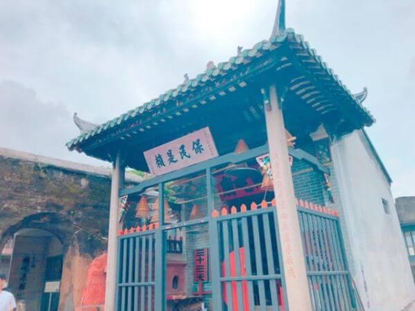 マカオ ナーチャ廟