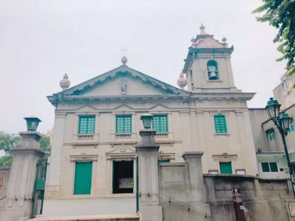 マカオ 聖アントニオ教会