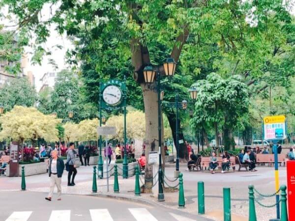 マカオ カモンエス広場