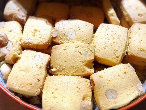 マカオ カシューナッツクッキー