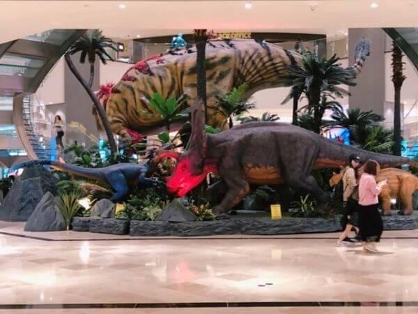 マカオ スタジオシティ 恐竜