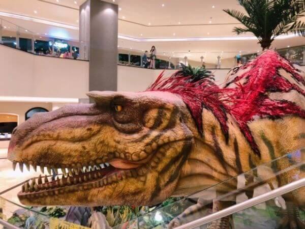 スタジオシティマカオ ティラノサウルス