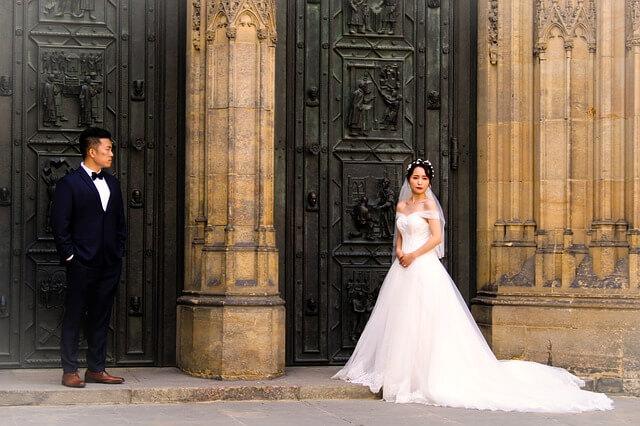 国際結婚 前撮り