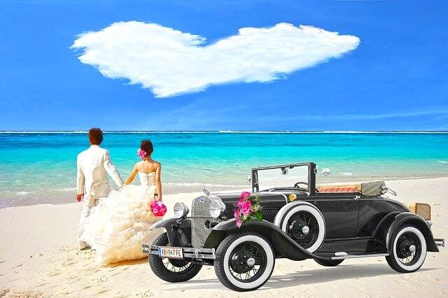 国際結婚 撮影