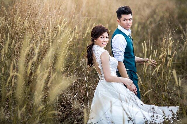 国際結婚 ドレス