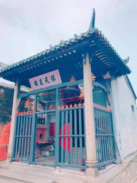 マカオ 世界遺産 ナーチャ廟