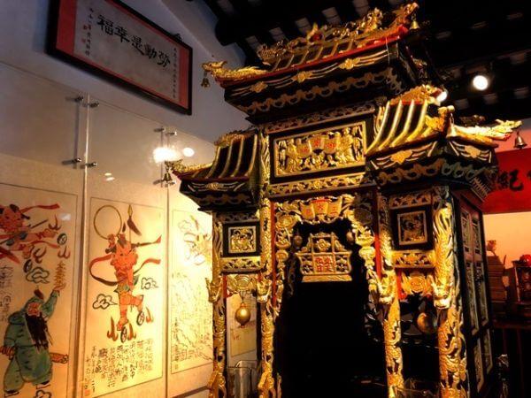 マカオ 世界遺産 ナーチャ廟 展示館