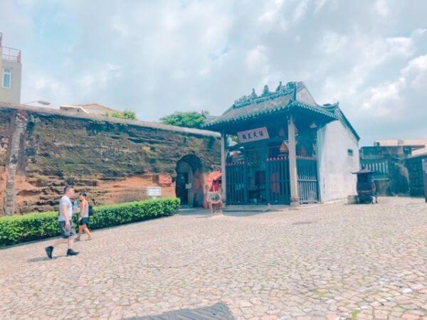 マカオ 世界遺産 ナーチャ廟 アクセス