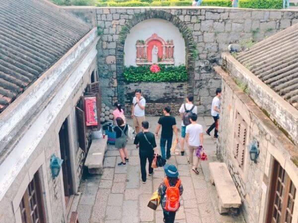 マカオ 世界遺産 モンテの砦 礼拝堂